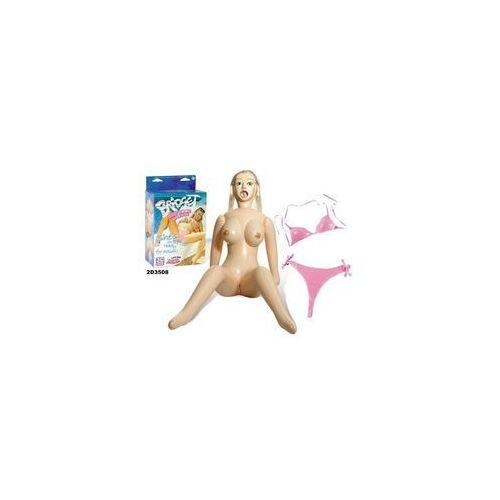 Dmuchana lalka 3D w stroju kąpielowym