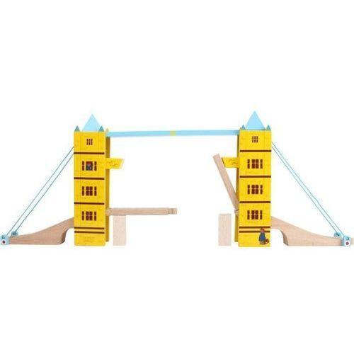 Miś paddington zestaw tower bridge - element do drewnianych kolejek dla dzieci marki Small foot design