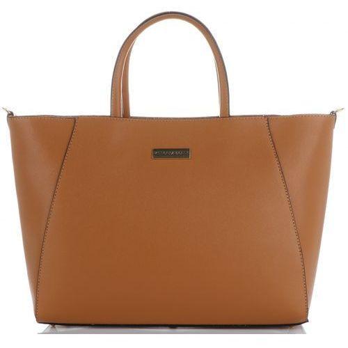 d6d39042ddc5e torebki skórzane duży firmowy włoski kufer w rozmiarze xxl rude (kolory)  marki Vittoria gotti