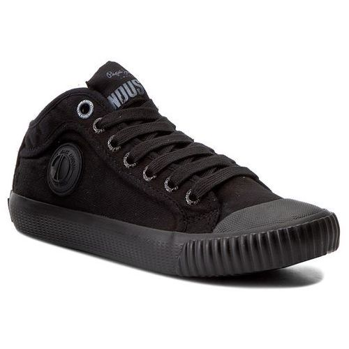 Trampki PEPE JEANS - Industry Routes PBS30299 Black 999