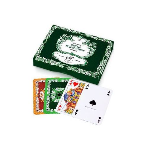 Piatnik Karty podwójne liście dębu