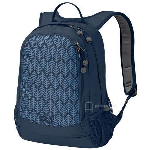 Jack wolfskin perfect day plecak miejski - midnight blue geometric leaves