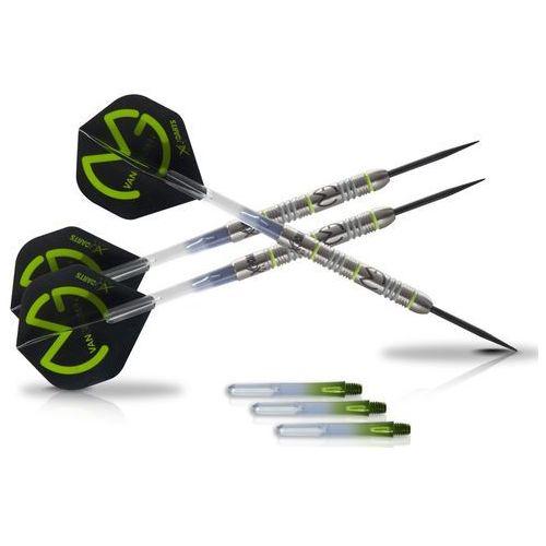 XQmax Darts Lotki/Rzutki do darta MvG Green Demolisher 23g 70% wolfram, kup u jednego z partnerów