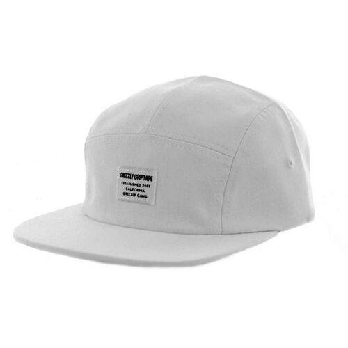 Grizzly Czapka z daszkiem - certified camp hat white (white) rozmiar: os