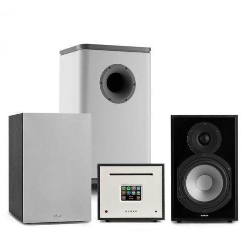 Numan unison reference 802 edition, system stereo, wzmacniacz, unisub, głośniki, czarny/szary (4060656188824)