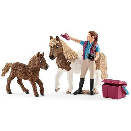 Zestaw opiekunka kucyków shetty 42362 - marki Schleich
