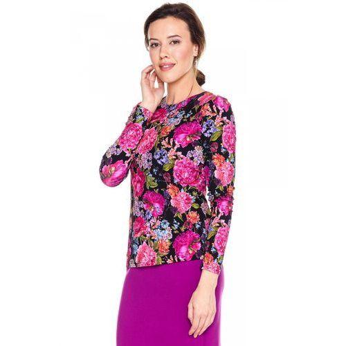Bluzka w kolorowe kwiatki - Bialcon