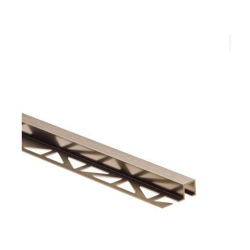 Profil wykończeniowy zewnętrzny kwadratowy aluminium marki Easy line