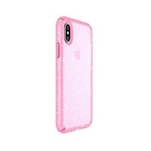 Etui SPECK Presidio Clear Glitter Apple iPhone X Różowy