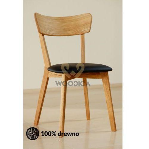 Krzesło dębowe 01c marki Woodica
