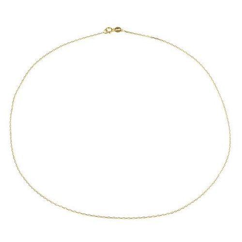 Łańcuszek złoty ZL.A.174.01 SAXO Biżuteria damska ze złota PR.585 14 Karat