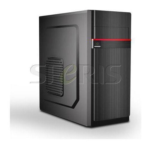 Obudowa Midi Tower Gembird CCC-GJ-11-R czarno-czerwona, towar z kategorii: Obudowy do komputerów