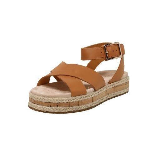CLARKS Sandały z rzemykami 'Botanic Poppy' beżowy / jasnobrązowy, kolor brązowy