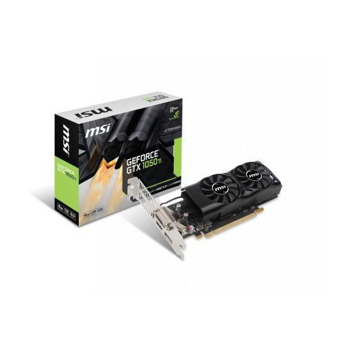 MSI GeForce GTX 1050 Ti 4GT LP 4GB GDDR5