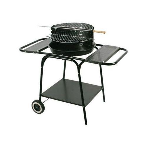 master grill&party mg606 grill ruchomy okrągły z dwiema bocznymi półkami marki Floraland