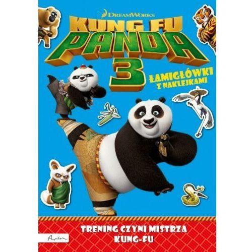 Papilon Dream works kung fu panda 3 trening czyni mistrza łamigłówki z naklejkami (9788327115133)