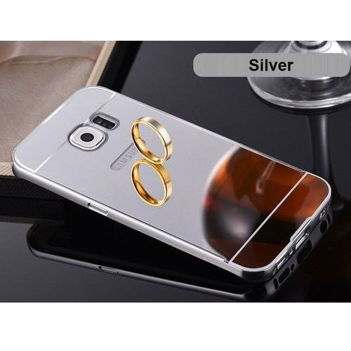 metal case srebrny | etui dla samsung galaxy s7 - srebrny marki Mirror bumper
