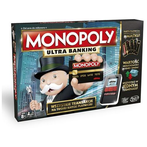 Gra Monopoly Ultra Banking, AM_5010994969226