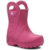 Kalosze CROCS - Handle It Rain Boot Kids 12803 Candy Pink