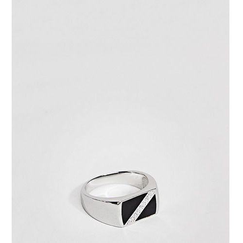 Mister grant signet ring in sterling silver - Silver