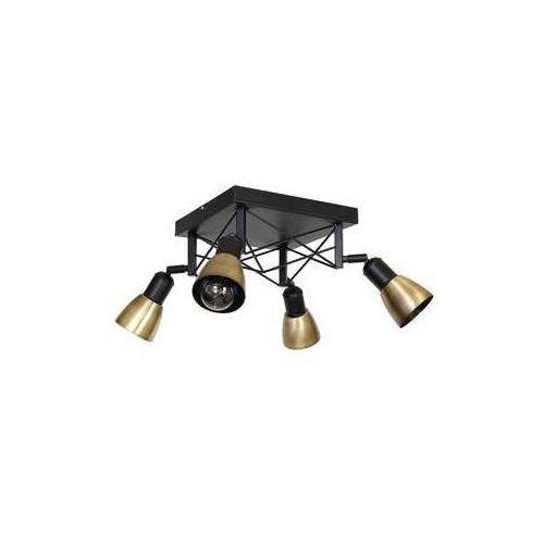 Luminex Oświetlenie punktowe gordon 4xe27/60w/230v mosiądz