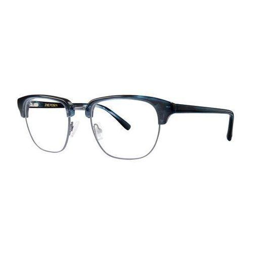 Zac posen Okulary korekcyjne kian denim