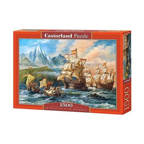 Puzzle 1500 an adventure to the new world c-151349 marki Castorland