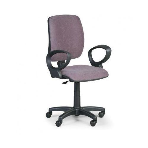 Krzesło biurowe torino ii z podłokietnikami - szare marki Euroseat