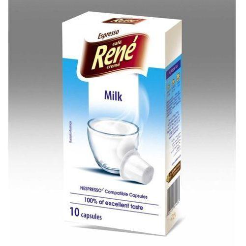 Nespresso kapsułki Rene milk (mleko w proszku) kapsułki do nespresso – 10 kapsułek