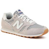 Sneakersy - ml373dc2 szary marki New balance
