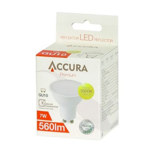 Accura Premium GU10 7W - produkt z kategorii- Żarówki LED