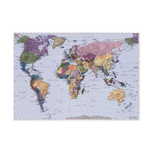 Fototapeta WORLD MAP 270 x 188 cm