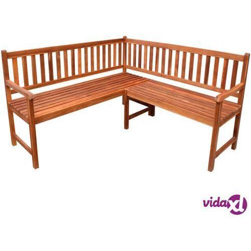 vidaXL Ławka narożna ogrodowa z drewna akacjowego (8718475961383)