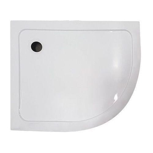Brodzik prysznicowy asymetryczny 80x100 lewy memphis kerra ✖️autoryzowany dystrybutor✖️ marki Novoterm