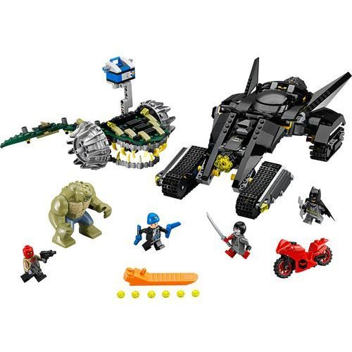 76055 BATMAN KROKODYL ZABÓJCA Batman: Killer Croc Sewer Smash - KLOCKI LEGO SUPER HEROES