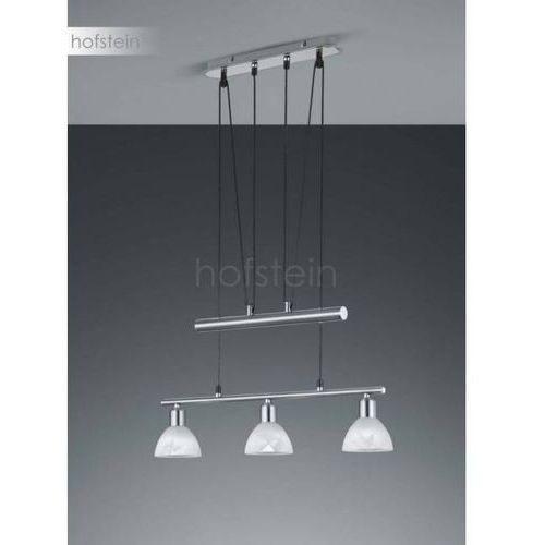 Trio LEVISTO lampa wisząca LED Nikiel matowy, 3-punktowe - Nowoczesny/Dworek - Obszar wewnętrzny - LEVISTO - Czas dostawy: od 3-6 dni roboczych (4017807281750)