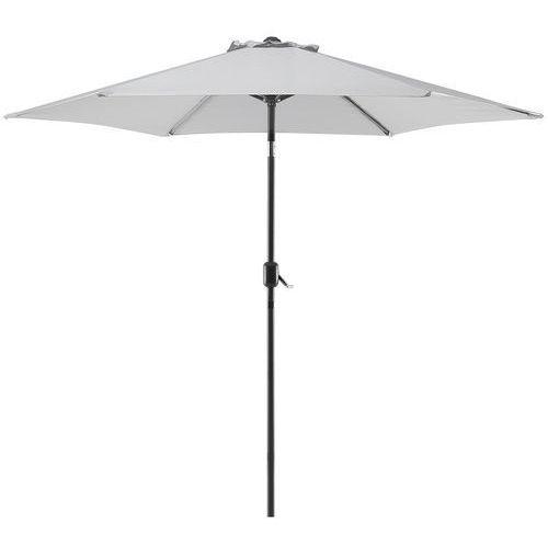 Parasol ogrodowy Ø270 cm jasnoszary varese ii marki Beliani