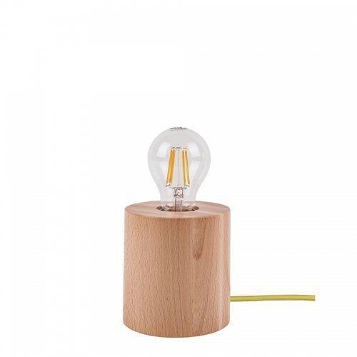 Lampka stołowa spot light trongo 1x60w e27 buk/oliwkowy 7071231 marki Spotlight