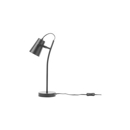 Lampa stołowa czarna 39 cm flint marki Beliani