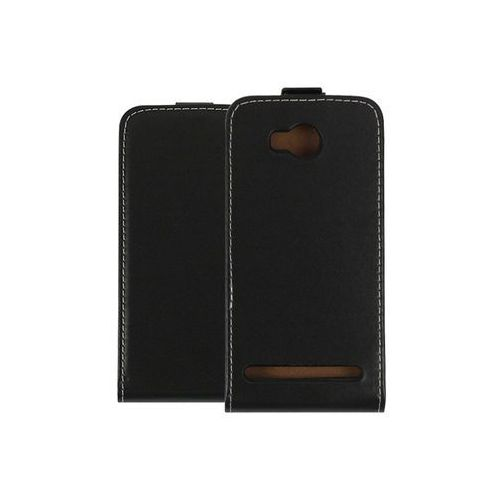 Huawei Y3 II - etui na telefon Forcell Slim Flexi - czarny, kolor czarny