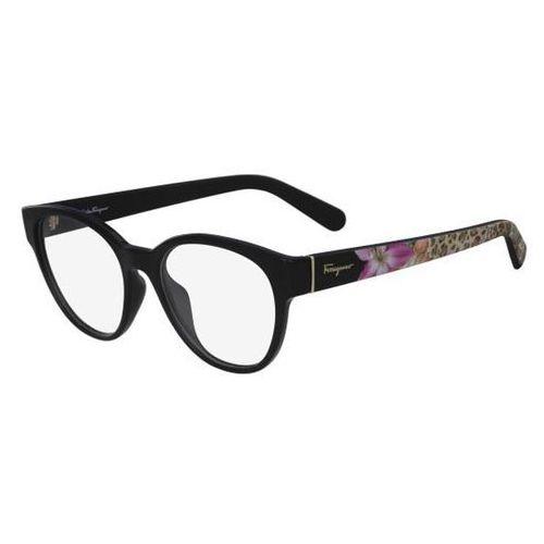 Salvatore ferragamo Okulary korekcyjne sf 2777 001