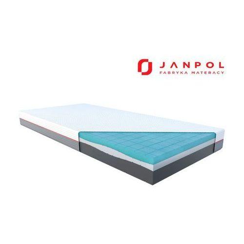 Janpol libera – materac piankowy, rozmiar - 90x200, pokrowiec - grey wyprzedaż, wysyłka gratis
