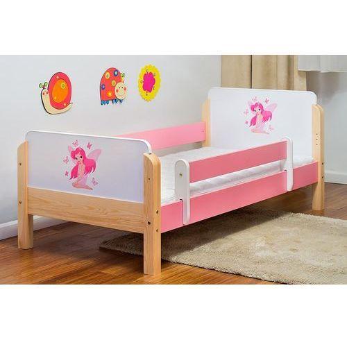 Łóżko dziecięce drewniane wróżka z motylkami kolory negocjuj cenę marki Kocot-meble