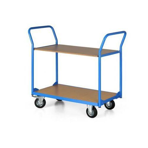 Wózek platformowy COMPACT, 2 półki