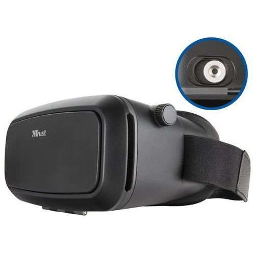 Trust exos plus virtual reality glasses for smartphone