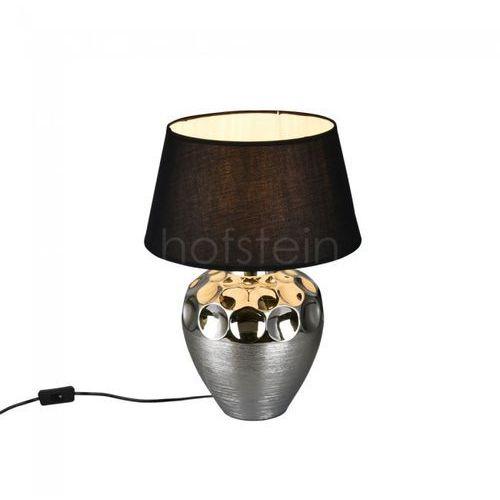 Reality Lampa stołowa luanda srebrny, 1-punktowy - dworek - obszar wewnętrzny - luanda - czas dostawy: od 3-6 dni roboczych