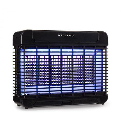 Waldbeck Mosquito Ex 5500 pułapka / urządzenie do rażenia owadów 11W 150m² LED tacka łańcuch czarna (4060656153891)