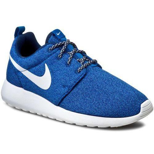 Buty NIKE - Roshe Run 844994 400 Coastal Blue/White/Blue Spark