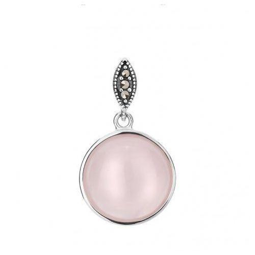 Biżuteria damska INFINITY TFZK0008 Zawieszka srebrna, kolor szary