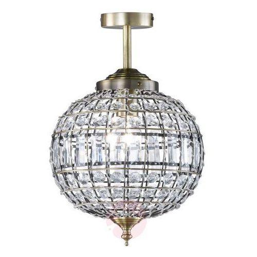 Hofstein Hanger lampa sufitowa stary mosiądz, 1-punktowy - klasyczny - obszar wewnętrzny - deckenleuchte - czas dostawy: od 6-10 dni roboczych (4001133222907)